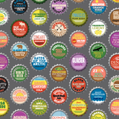 Soda Nation* (Pepper Pot) || bottlecap bottle cap national park America United States nps polka dots typography cola travel summer food drink vacation