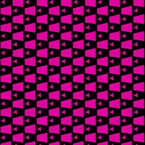 Bubble Gum Pink fabric by eve_catt_art on Spoonflower - custom fabric
