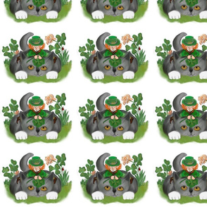 Kitten_and_Leprechaun_Find_a_Four_Leaf_Clover_-_Spoonflower