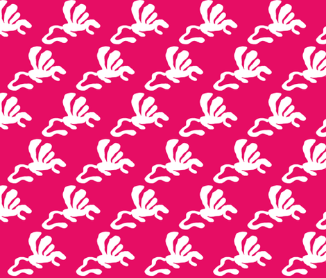 Dino1 Pink decor fabric by mayadesign on Spoonflower - custom fabric
