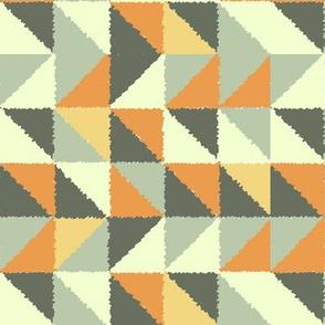 Retro style triangles