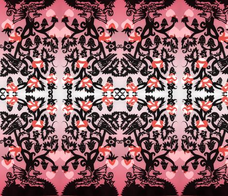 dragon-ed fabric by cherb on Spoonflower - custom fabric
