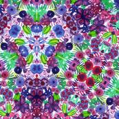 Geometric Floral