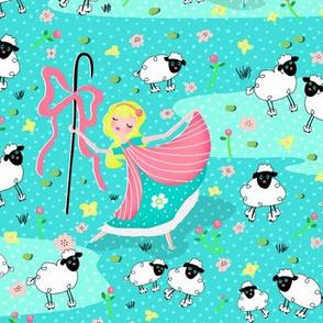 Bo Peep and Sheep