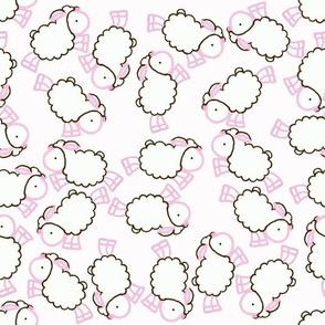 Ovejitas Ditsy Pattern