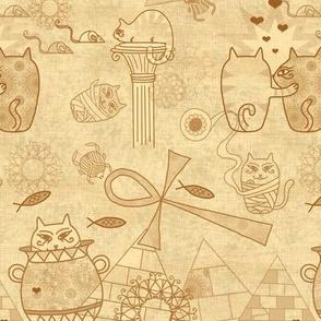 Papyrus kitties