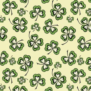 Lucky Shamrocks Yellow