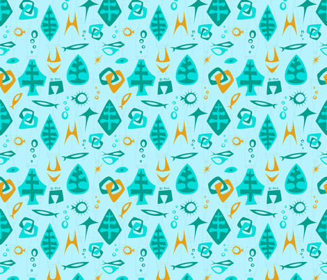 MOD Pacific fabric by brianrechenmacher on Spoonflower - custom fabric