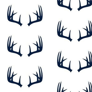navy antlers - Rustic Woods Collection