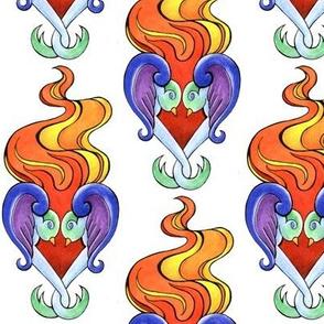 Love Bird Sacred Heart Lg