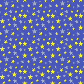 Shoot for the Stars Blue