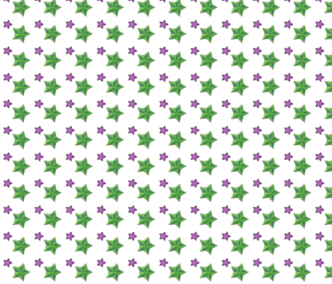 stars on white fabric by lostzelda on Spoonflower - custom fabric