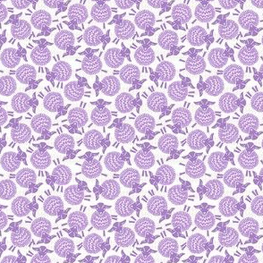 Ditzy Little Sheep - Lilac