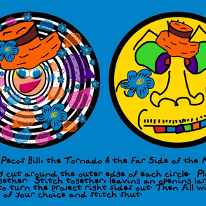 Mrs. Pecos Bill, the Tornado & The Far Side of the Moon