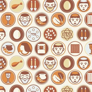 Passover Circles Pattern
