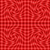 Red Gingham Spiral