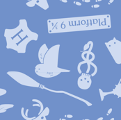 Pastel Potter - Blue
