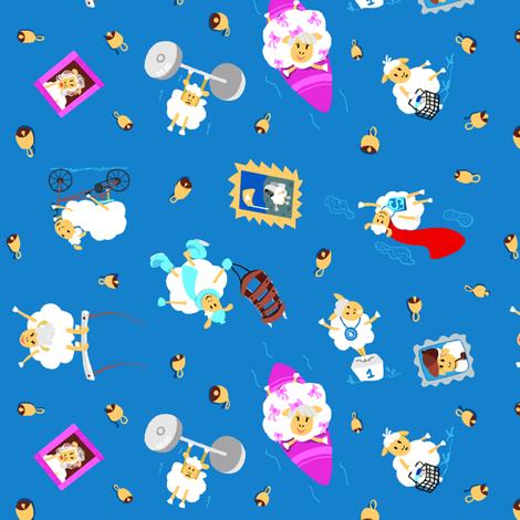 sheep2015 fabric by edrouga on Spoonflower - custom fabric