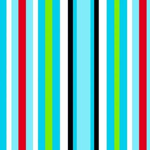 Bright Stripes Wide