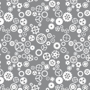 Grey gears