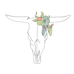 Spoonflower_Cow_with_Flowers