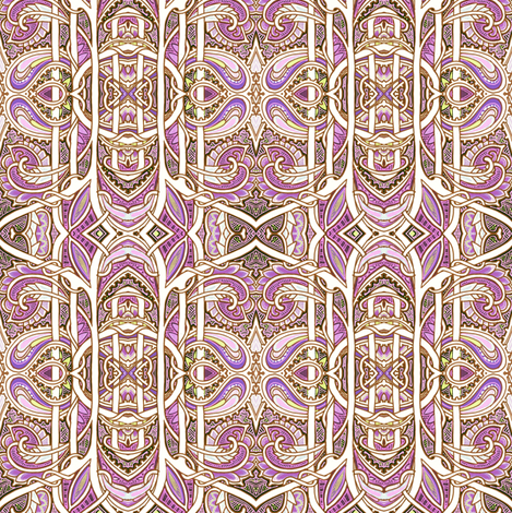 When Paisley Breed fabric by edsel2084 on Spoonflower - custom fabric