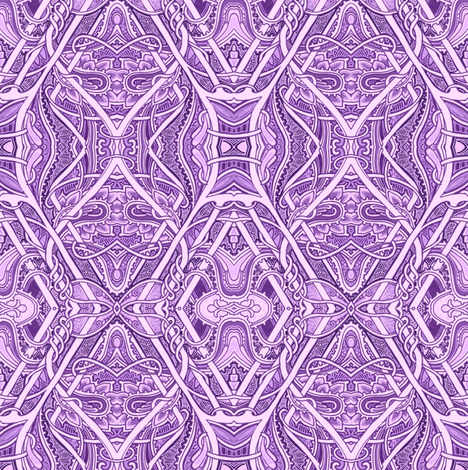 Blame It All on Purple fabric by edsel2084 on Spoonflower - custom fabric