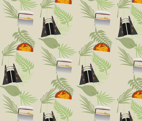 Jurassic Science 04 fabric by lowa84 on Spoonflower - custom fabric