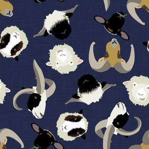 Knee Deep in Ditsy Sheep