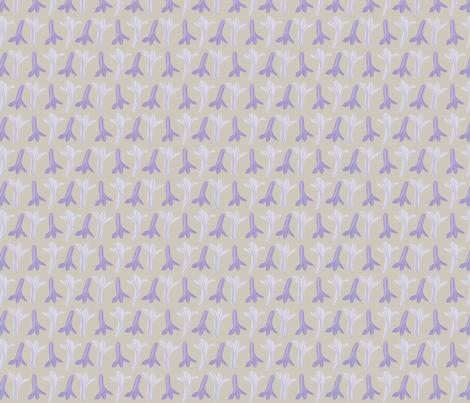 jacaranda flowers_light fabric by colour_angel_by_kv on Spoonflower - custom fabric