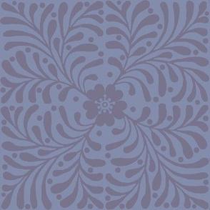 Grey cheater quilt