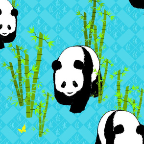 Panda Parade Large Scale