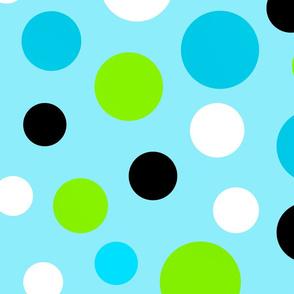Panda Polka Dots Large