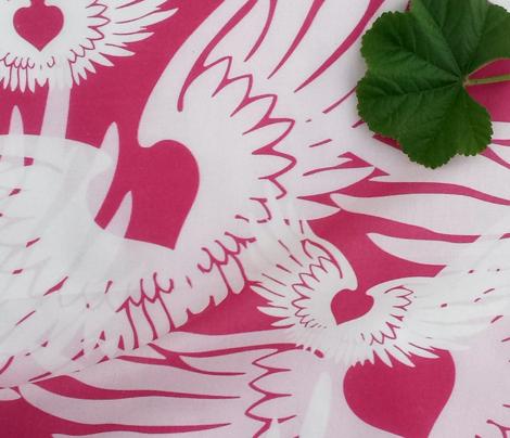 Heartwings II: Pink & White