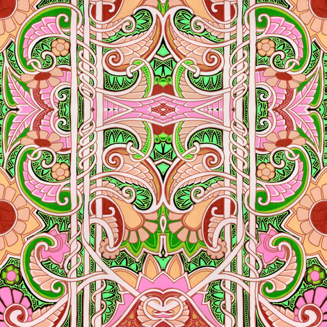 Party Yourself Into Abstraction fabric by edsel2084 on Spoonflower - custom fabric