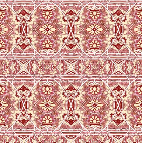 My Gothic Valentine fabric by edsel2084 on Spoonflower - custom fabric