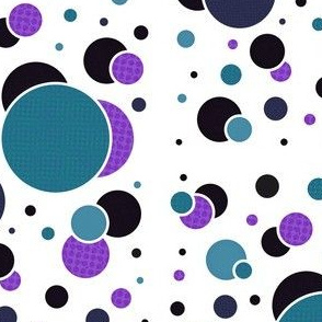 Fizzy Lifting Dots Lavender