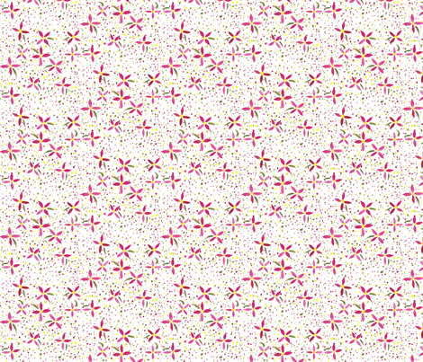 Petals and Joy fabric by erin_mcclain_studio on Spoonflower - custom fabric