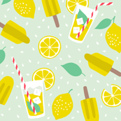 Refreshing summer lemons