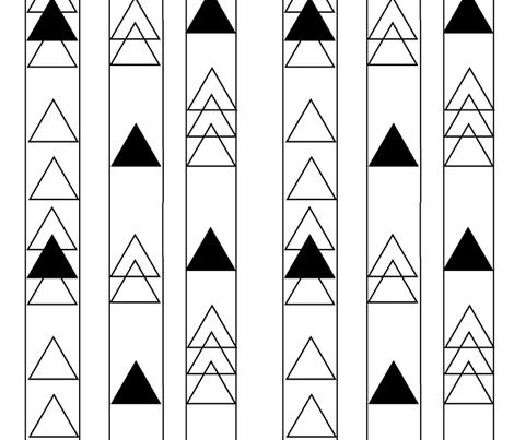 Arrowhead Stripe fabric by tycdesignco on Spoonflower - custom fabric