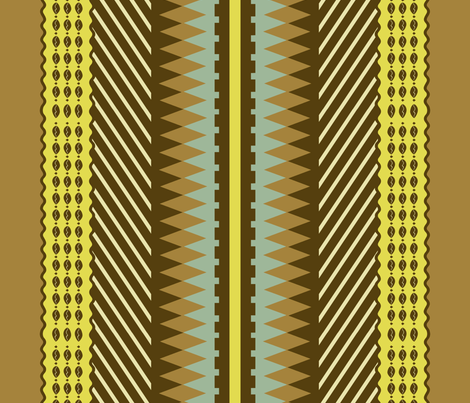 African Glam #4 fabric by susiprint on Spoonflower - custom fabric