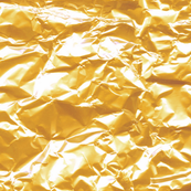 gold foil candy wrapper