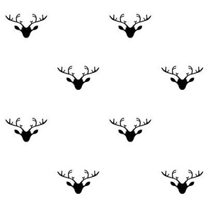 Deer heads (dark blue)