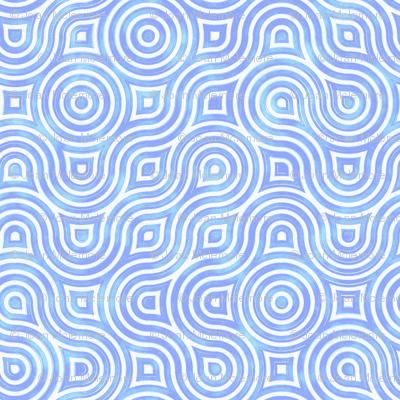 Modern Vertigo in blue