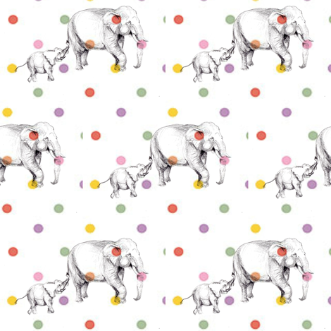 tembo- RAINBOW fabric by sweetlittletinkers_ on Spoonflower - custom fabric