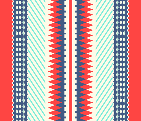 African Glam #5 fabric by susiprint on Spoonflower - custom fabric