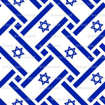 Israel Flag Weave