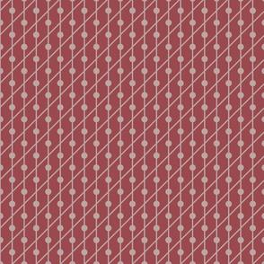 Marsala Dots Pattern