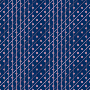 Navy Dots Pattern