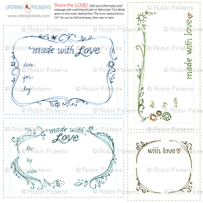 Quilt Fabric Labels_swirls in colors